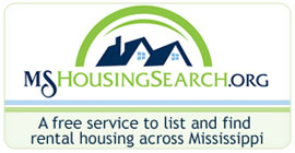 MSHousingSearch.org - a free service to list and find rental housing across Mississippi