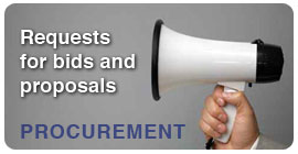 Procurement, requests for bids and proposals